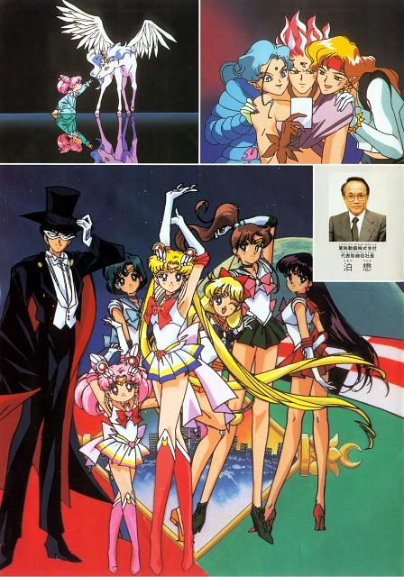 Toei Animation, Bishoujo Senshi Sailor Moon, Sailor Mercury, Tuxedo Kamen, Chibi Usa