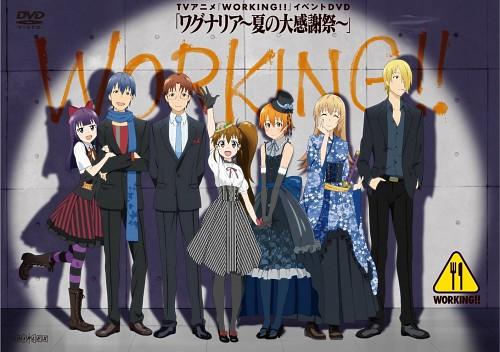 Karino Takatsu, A-1 Pictures, Working!!, Souta Takanashi, Mahiru Inami