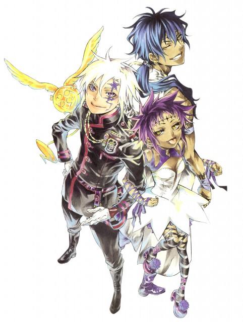 Katsura Hoshino, D Gray-Man, Noche - D.Gray-man Illustrations, Allen Walker, Road Kamelot