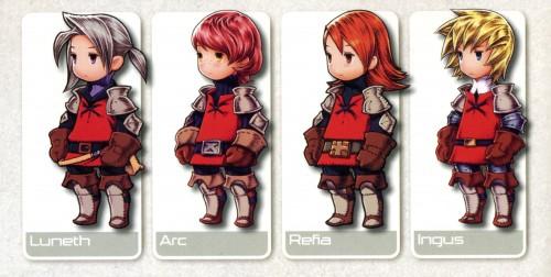 Square Enix, Final Fantasy III, Refia, Ingus