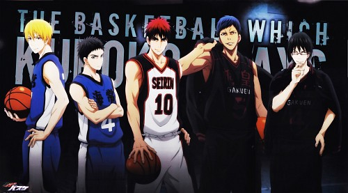 Tadatoshi Fujimaki, Production I.G, Kuroko no Basket, Taiga Kagami, Yukio Kasamatsu