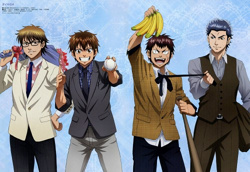 Yuuji Terajima, Kyouko Kotani, Production I.G, Ace of Diamond, Eijun Sawamura