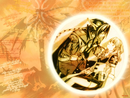 Daisuke Moriyama, Gonzo, Chrno Crusade, Rosette Christopher, Chrno Wallpaper