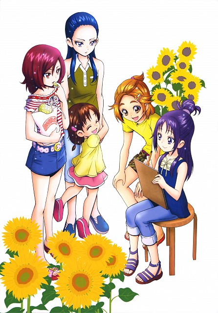 Futago Kamikita, Precure Splash Star, Futago Kamikita All Precure Illustration Collection, Minori Hyuuga, Saki Hyuuga