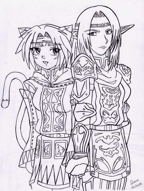 Square Enix, Final Fantasy XI, Original, Member Art