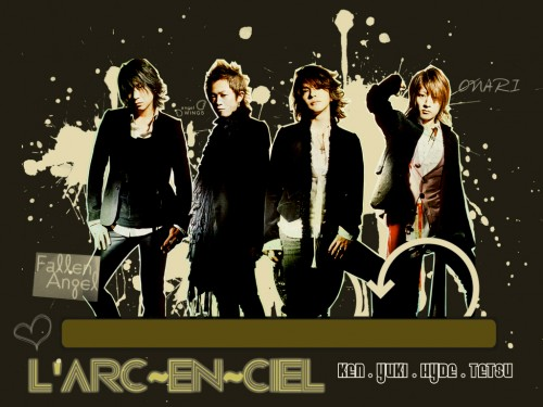 Tetsuya Ogawa, Hyde (J-Pop Idol), Ken Kitamura, L'Arc~en~Ciel, Yukihiro Awaji Wallpaper
