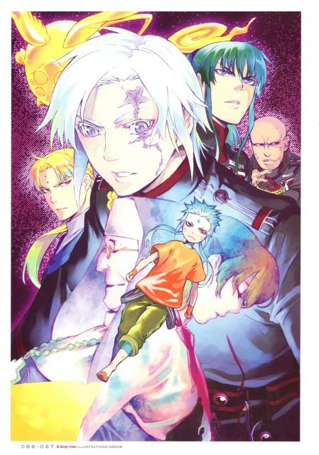 Katsura Hoshino, D Gray-Man, Noche - D.Gray-man Illustrations, Allen Walker, Timcanpy
