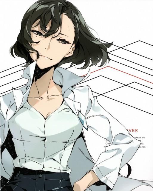 Mai Yoneyama, Trigger (Studio), Kiznaiver, Mutsumi Urushibara, DVD Cover