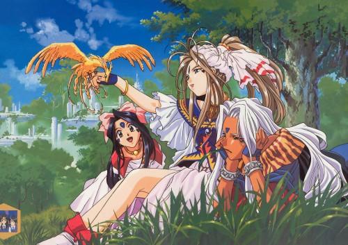 Kousuke Fujishima, Ah! Megami-sama, Skuld, Urd, Belldandy