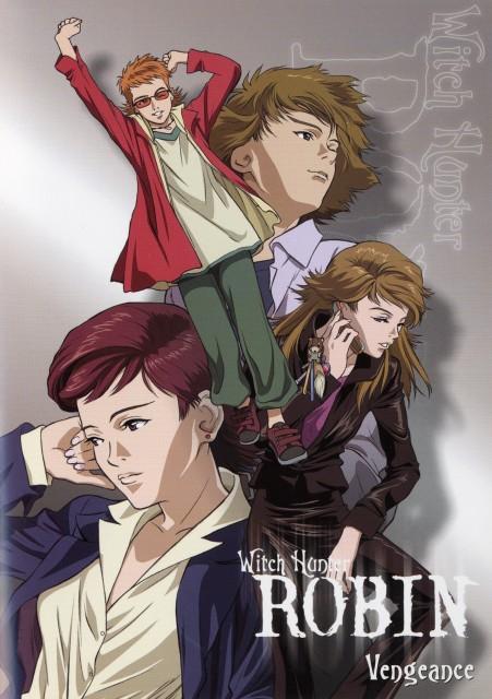 Sunrise (Studio), Witch Hunter Robin, Yurika Doujima, Haruto Sakaki, Robin Sena