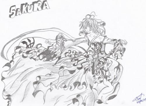 CLAMP, Tsubasa Reservoir Chronicle, Sakura ~Setsugekka~, Sakura Kinomoto, Member Art