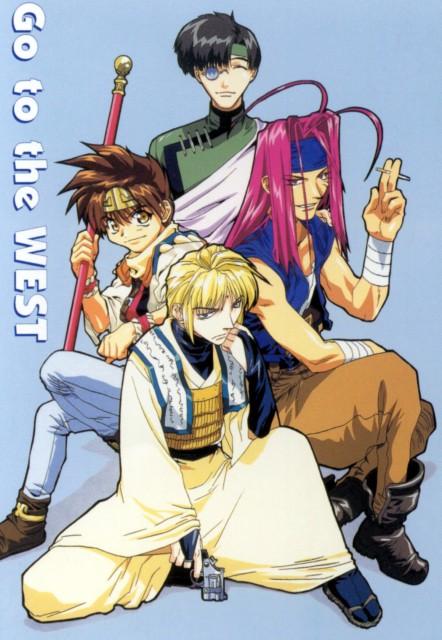 Kazuya Minekura, Studio Pierrot, Saiyuki, Sha Gojyo, Cho Hakkai