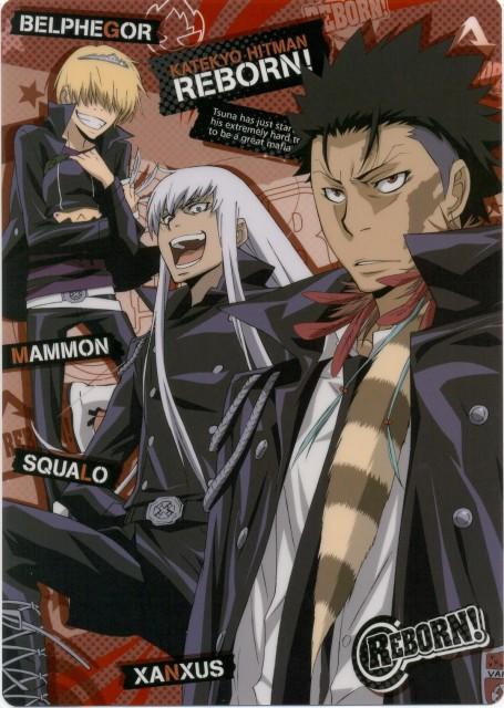 Akira Amano, Katekyo Hitman Reborn!, Superbi Squalo, Xanxus, Belphegor (Katekyo Hitman Reborn!)