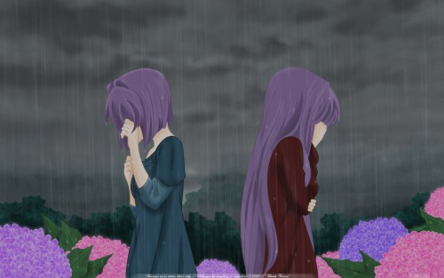 Kyoto Animation, Clannad, Kyou Fujibayashi, Ryou Fujibayashi Wallpaper