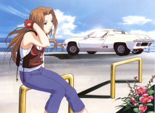 Kousuke Fujishima, Actas, eX-Driver, Lorna Endou