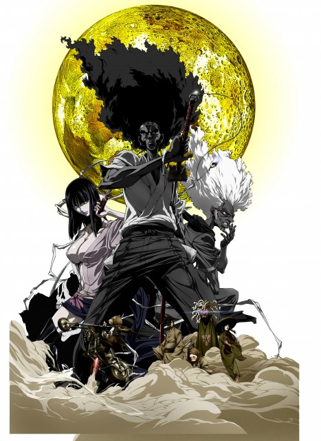 Gonzo, Afro Samurai, Sio (Afro Samurai), Ninja Ninja (Afro Samurai), Afro (Afro Samurai)