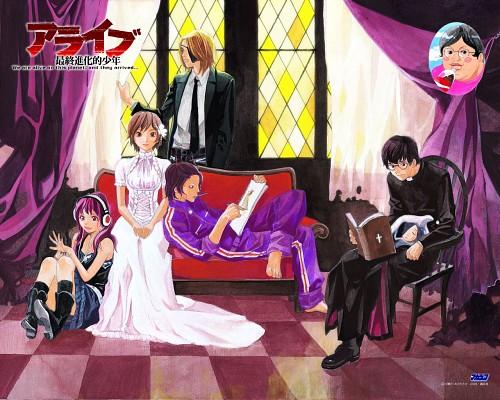 Toka Adachi, Alive: The Final Evolution, Kenichirou Morio, Ron Hasegawa, Hideo Asou