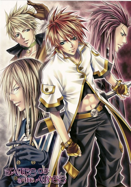 Aiki Ren, Tales of the Abyss, Jade Curtiss, Guy Cecil, Luke Fon Fabre
