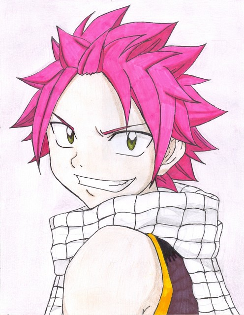 Fairy Tail, Natsu Dragneel, Member Art