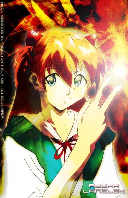 Yoshiyuki Sadamoto, Neon Genesis Evangelion, Asuka Langley Soryu, Member Art