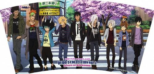 Akira Amano, Katekyo Hitman Reborn!, Tsunayoshi Sawada, Leon (Katekyo Hitman Reborn!), Xanxus