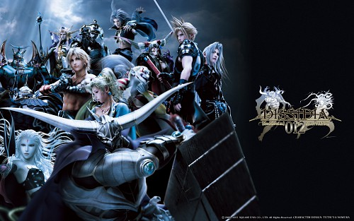 Square Enix, Dissidia Final Fantasy, Sephiroth, Cloud Strife, Vaan