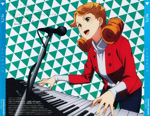 A-1 Pictures, Galilei Donna, Anna Hendrix, Album Cover