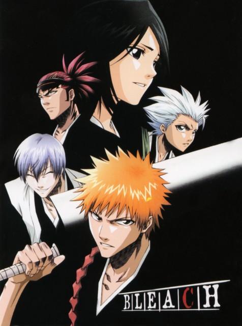 Studio Pierrot, Bleach, Rukia Kuchiki, Gin Ichimaru, Toshiro Hitsugaya