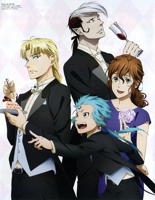 D Gray-Man, Arystar Krory, Miranda Lotto, Howard Link, Animedia