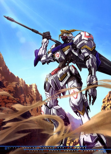 Sunrise (Studio), Mobile Suit Gundam: Iron-Blooded Orphans, Mobile Suit Gundam Series 2020 Calendar, Calendar
