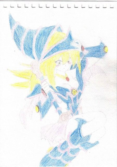 Yu-Gi-Oh Duel Monsters, Dark Magician Girl