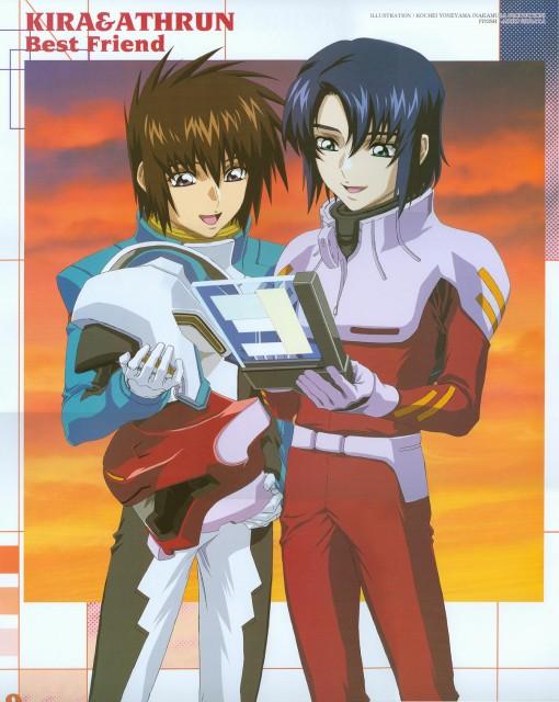 Sunrise (Studio), Mobile Suit Gundam SEED, Kira Yamato, Athrun Zala, Calendar