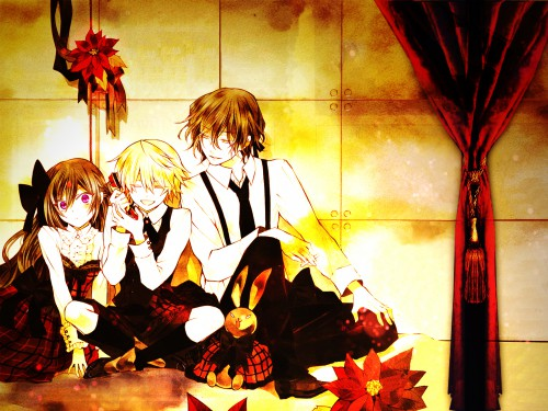Jun Mochizuki, Akifumi Ozawa, Xebec, Pandora Hearts, Gilbert Nightray Wallpaper