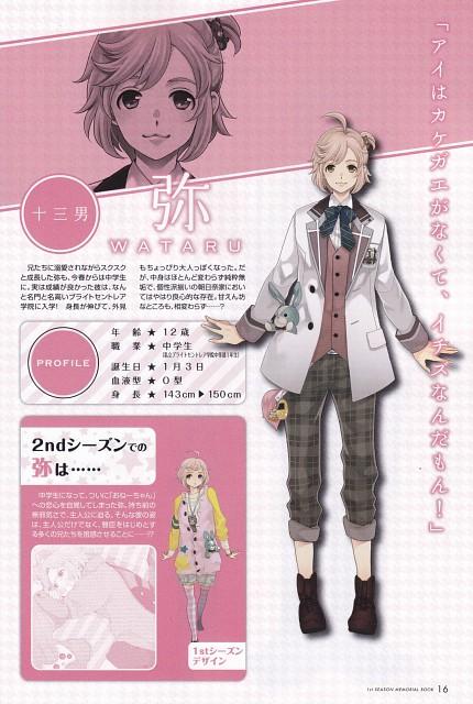 Udajo, Idea Factory, Brothers Conflict, Wataru Asahina, Character Sheet