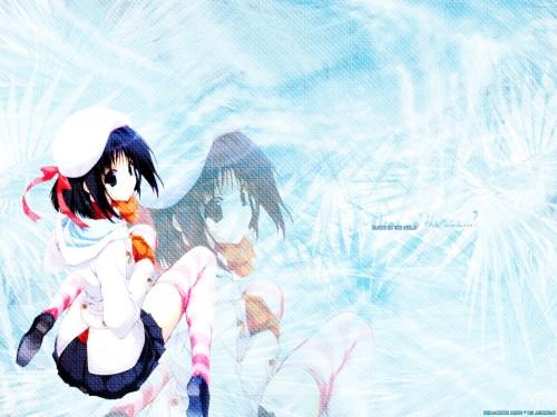 Asuka Pyon, Kobuichi, Hiro Suzuhira, Studio Mebius, Snow (Visual Novel) Wallpaper