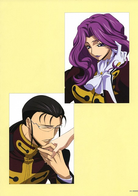 Takahiro Kimura, Sunrise (Studio), Lelouch of the Rebellion, Code Geass Illustrations Relation, Gilbert G.P. Guilford