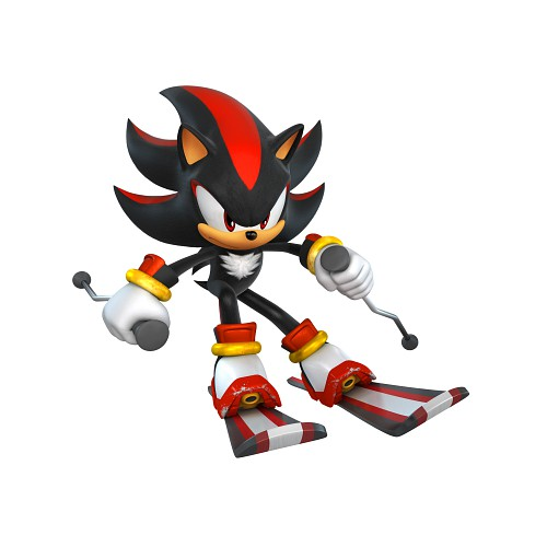 Sega, Sonic the Hedgehog, Shadow the Hedgehog, Official Digital Art