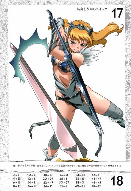 Hisayuki Hirokazu, Queen's Blade - Erina, Queen's Blade, Elina Vance