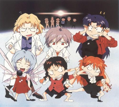 Yoshiyuki Sadamoto, Neon Genesis Evangelion, Die Sterne, Kaworu Nagisa, Ritsuko Akagi