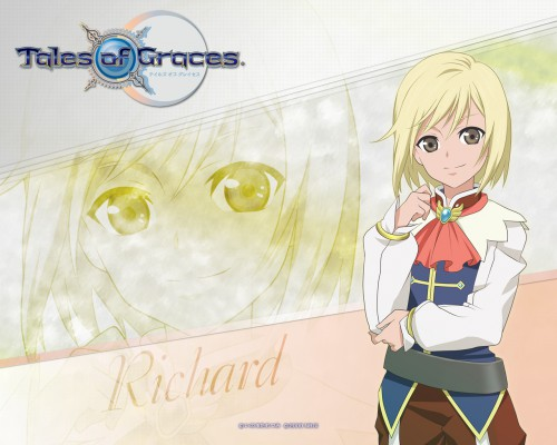 Mutsumi Inomata, Namco, Tales of Graces, Richard, Official Wallpaper