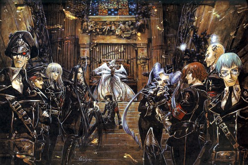 Shibamoto Thores, Gonzo, Trinity Blood, Fabrica Theologiae, William Walter Wordsworth