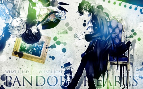 Jun Mochizuki, Xebec, Pandora Hearts, Gilbert Nightray, B-rabbit Wallpaper