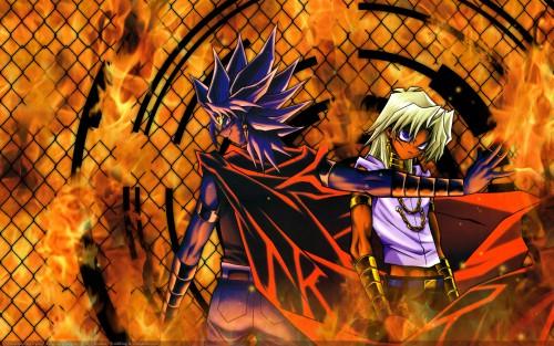 Kazuki Takahashi, Yu-Gi-Oh Duel Monsters, Yami Marik, Marik Ishtar Wallpaper