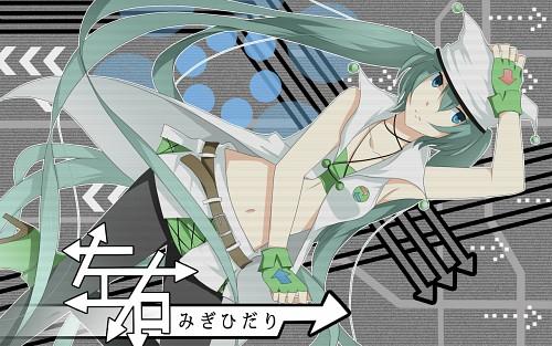 Vocaloid, Miku Hatsune, Member Art Wallpaper