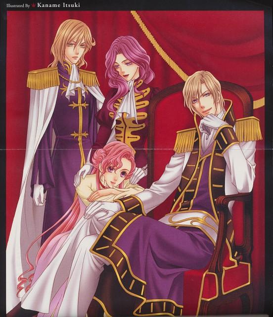 Itsuki Kaname, Lelouch of the Rebellion, Schneizel El Britannia, Euphemia Li Britannia, Clovis La Britannia