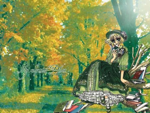 CLAMP, Magic Knight Rayearth, Fuu Hououji Wallpaper