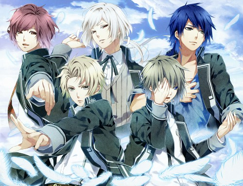 Teita, Idea Factory, NORN9 Official Fan Book, NORN9, Akito Shukuri