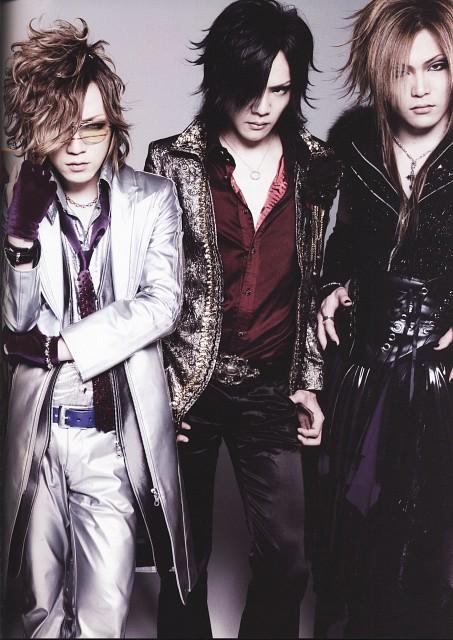 Kai, Uruha, Ruki, Gazette
