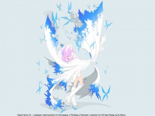Oh! Great, Air Gear, Kururu Sumeragi, Vector Art Wallpaper