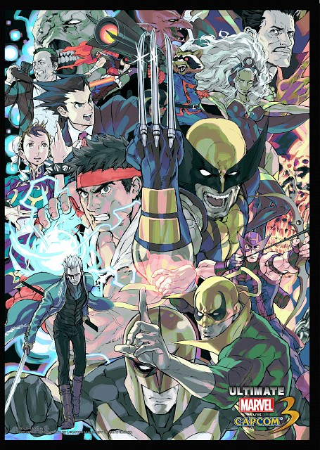 Marvel (Studio), Capcom, Marvel vs Capcom 3, Ryu, Strider Hiryu